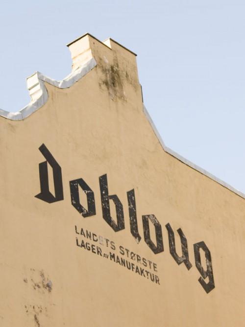 Dobloug - landets største lager av manufaktur