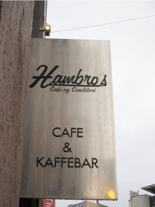 Hambros Cafe og conditori