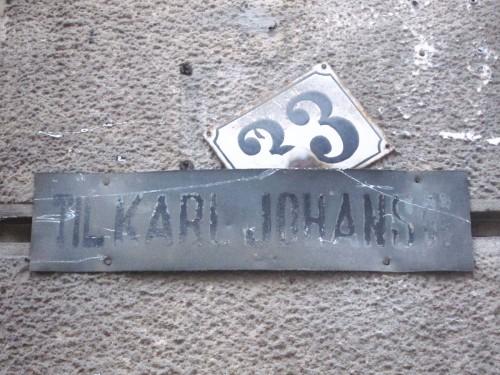 Til Karl Johansgate 33