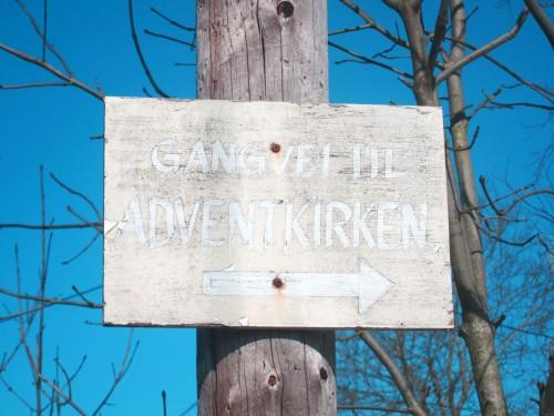 Gangvei til adventskirken
